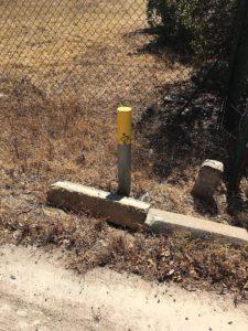 Ecovia pole sign