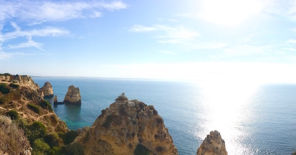 Ecovia do litoral Algarve